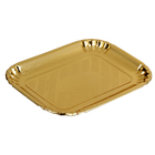 Кондитерский поднос, золотой, 20 х 14,1 см