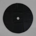 Круг приствольный, d = 0,8 м, спанбонд с УФ-стабилизатором, набор 5 шт., чёрный, «Садовник»