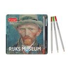 Набор акварельных карандашей Bruynzeel Автопортрет 24 цвета в металлической коробке