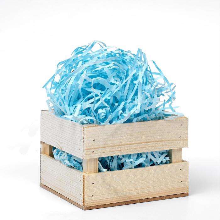Наполнитель бумажный голубой, 1000 г