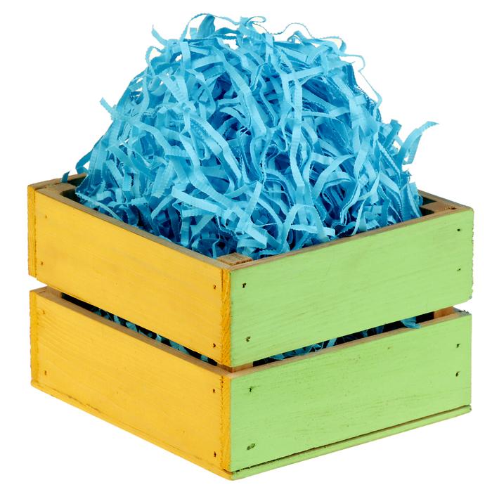 Наполнитель бумажный синий, 1000 г