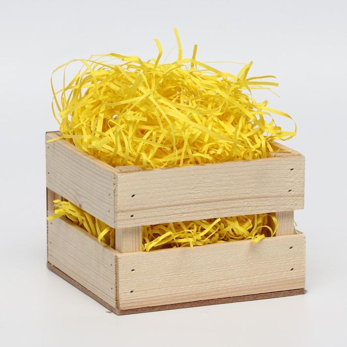 Наполнитель бумажный лимонный, 500 г - фото 1688521