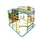 ДСК «Мурзилка-S» напольный, 1400 × 1210 × 1150 мм, цвет голубой/радуга
