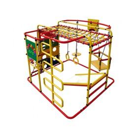 ДСК «Мурзилка-S» напольный, 1400 × 1210 × 1150 мм, цвет красный/радуга