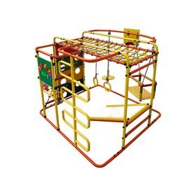 ДСК «Мурзилка-S» напольный, 1400 × 1210 × 1150 мм, цвет оранжевый/радуга