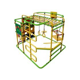 ДСК «Мурзилка-S» напольный, 1400 × 1210 × 1150 мм, цвет салатовый/радуга