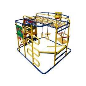 ДСК «Мурзилка-S» напольный, 1400 × 1210 × 1150 мм, цвет синий/радуга