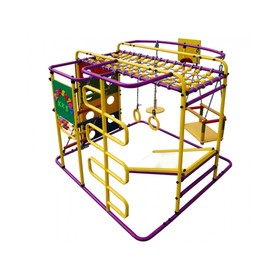 ДСК «Мурзилка-S» напольный, 1400 × 1210 × 1150 мм, цвет фиолетовый/радуга
