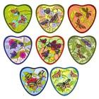 """Прихватка-сердце """"Бабочки"""", размер 17х17 см, цвет микс L22-179"""