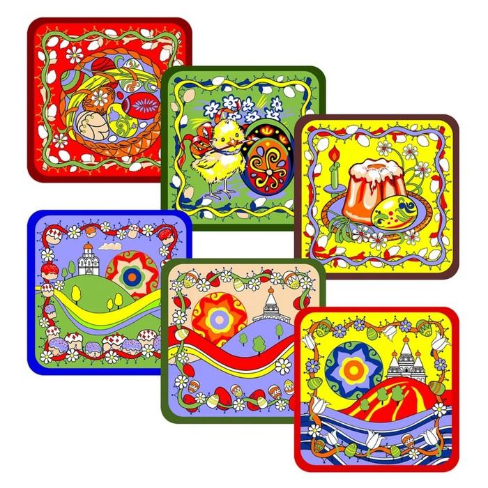 Прихватка «Пасха», размер 15 × 15 см, цвет микс