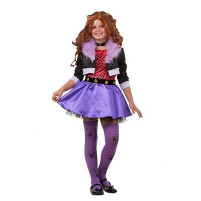 Карнавальный костюм «Клодин Вульф. Монстры Хай», размер 30