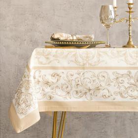 Набор столовый Этель «Классика», скатерть 110 × 150 см, салфетки 40 × 40 см, 4 шт., хлопок 100 %