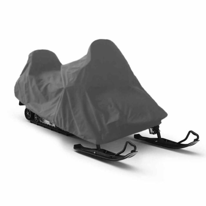 Чехол для снегохода Tplus, Stels V800 Росомаха 3100х1500х1500 мм, оксфорд 240, серый (T001609)