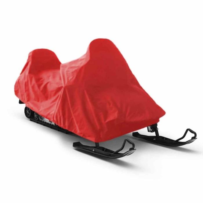 Чехол для снегохода Tplus, Stels V800 Росомаха 3100х1500х1500 мм, оксфорд 600, красный (T001618)