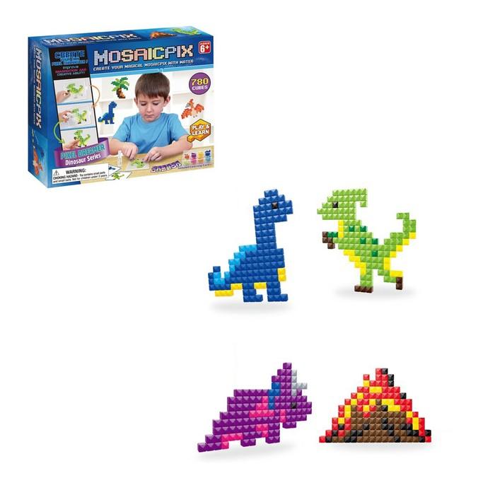 Аквамозаика MOSAICPIX «Динозавры», 780 деталей