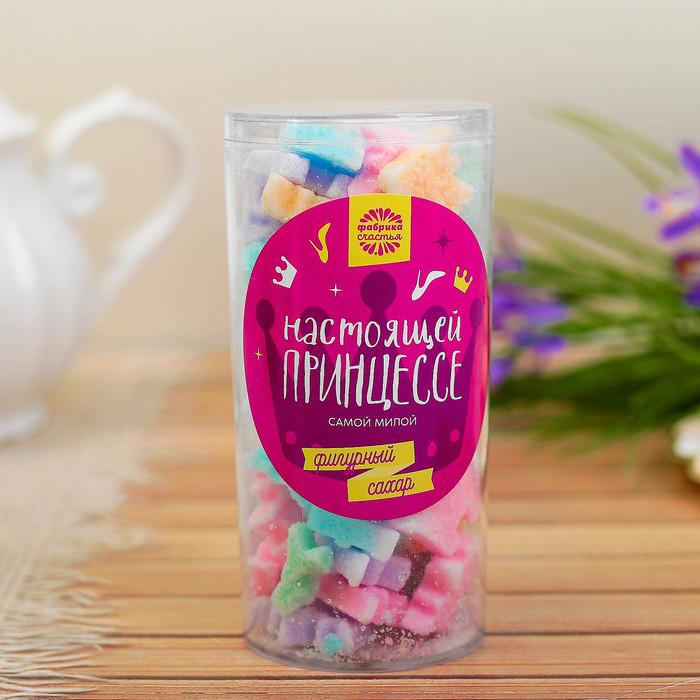 """Фигурный сахар в тубе """"Для настоящей принцессы"""""""