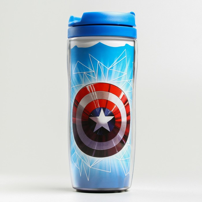 """Термостакан """"Щит Капитана Америки"""", Мстители, 350 мл"""