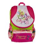 Рюкзак школьный Target 40*30*17 для девочки, с наполнением, «Цветы мечты»