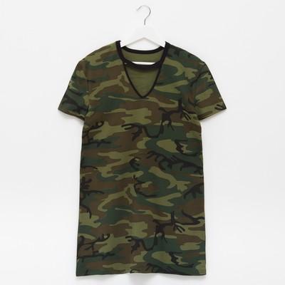 """Платье-футболка женская  KAFTAN """"Militari"""", р-р L (46-48), 100% хл."""