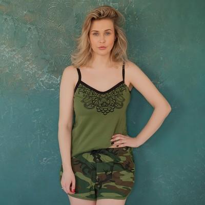 """Шорты женские  KAFTAN """"Militari"""", р-р L (46-48), 100% хл."""