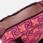 Косметичка ПВХ, отдел на молнии, 2 ручки, цвет розовый - фото 1769788