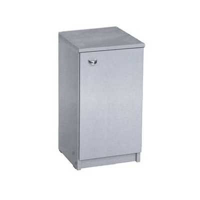 Тумба к столу ЛЕКС, 304х306х565, цвет титан