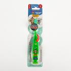 """Зубная щетка детская Longa Vita """"Забавные Зверята"""" F-57D, мигающая, c присоской, зелёная"""