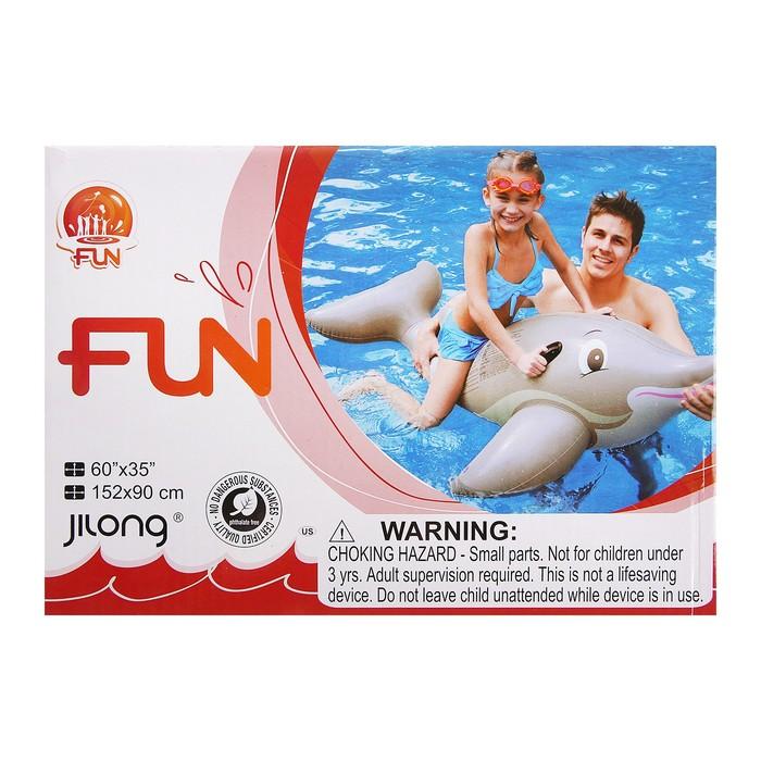 """Надувная игрушка для плавания """"Дельфин - всадник"""", от 3 лет"""