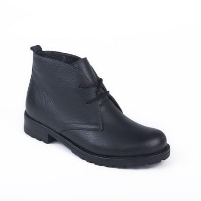 Ботинки женские арт. 8401Б / байка (черный) (р.39)