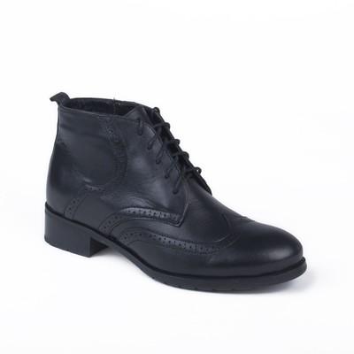 Ботинки женские арт. 8501Б / байка (черный) (р.39)