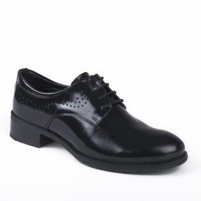 Туфли женские, цвет чёрный, размер 36