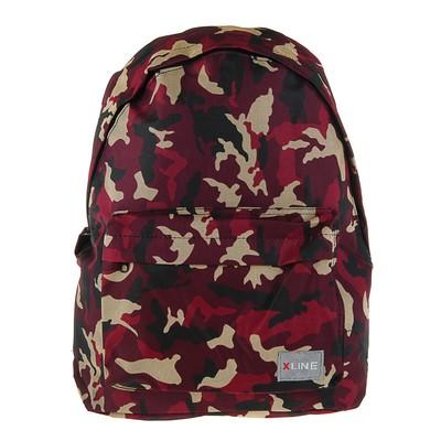 Рюкзак молодежный Proff 37,5*27*12 X-line, бордовый XL17-1017-G