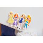 Игра одень куклу «Модный образ: стильная штучка», из пенокартона - фото 105608952