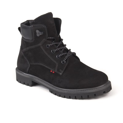 Ботинки мужские арт. 4546-7Б / байка (черный) (р. 40)