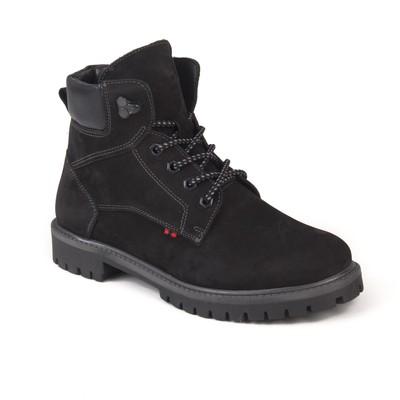 Ботинки мужские арт. 4546-7Б / байка (черный) (р. 43)