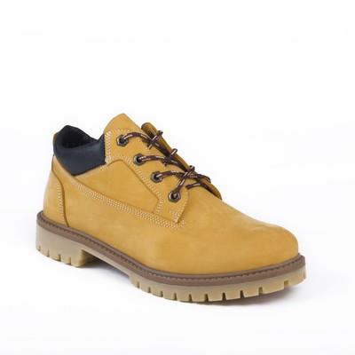 Ботинки мужские арт. 217104-3-7Б / байка (желтый) (р. 43)