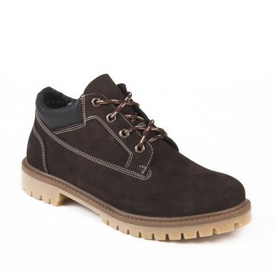 Ботинки мужские арт. 217104-2-7Б / байка (коричневый) (р. 40)