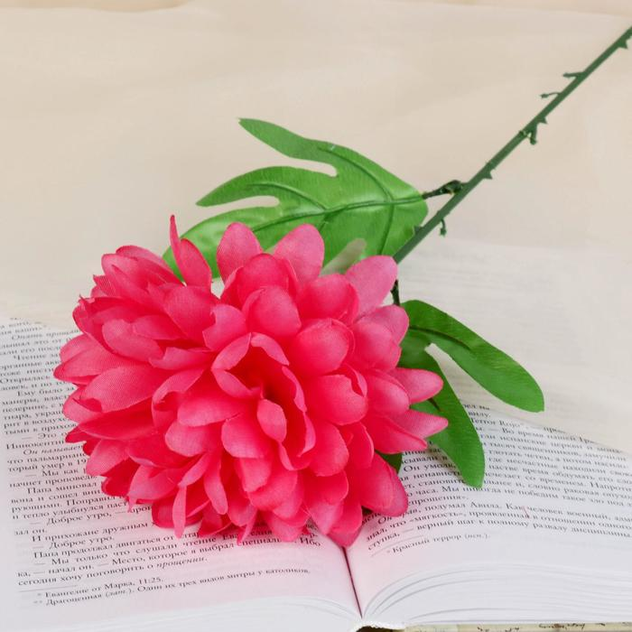 цветы искусственные (стебель-пластик,бутон-ткань) пион 55см d-14 МИКС - фото 4455506