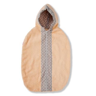 Рубашечка спальная (персиковый)