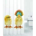 Штора для ванной BABY CHICKENS, цвет Цыплята 180х200