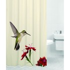 Штора для ванной HUMMINGBIRD, цвет Колибри 180х200