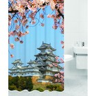 Штора для ванной KYOTO, цвет Япония HOT Print 180х200