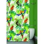 Штора для ванной BIRDS JUNGLE 180х180