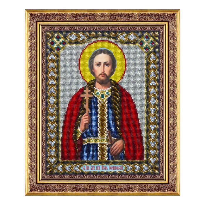 Набор для вышивки бисером «Святой благоверный князь Игорь Черниговский» - фото 694760