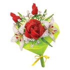 """Набор для создания букета из бисера """"Розы и лилии""""  АА 42-620"""