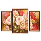 "Модульная картина ""Букет роз"" 2-19*40,31*49,  50*70 см"