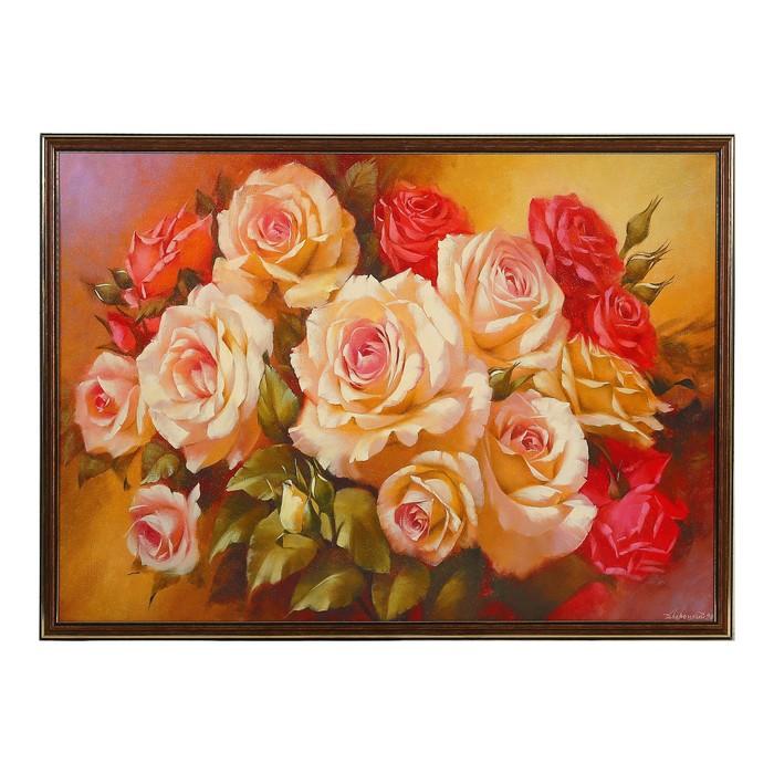 """Картина """"Прекрасные цветы"""" 53*73 см"""