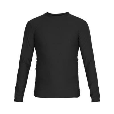 Футболка компрессионная RASH GUARD, размер S, цвет черный
