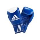 Перчатки боксерские Ultima Target Wako Training Boxing Gloves 10oz, цвет сине-белый