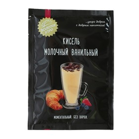 Кисель молочный ванильный С.Пудовъ, пленка, 0,04 кг
